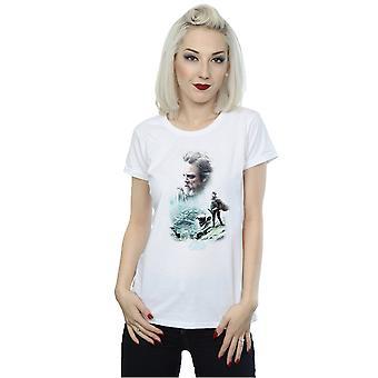 Star Wars Women's The Last Jedi Luke And Rey T-Shirt
