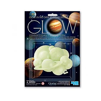 SALE -  Glow In The Dark 3D Solar System | Outer Space Crafts
