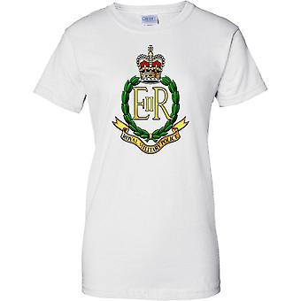 MOD con licencia - ejército británico real policía militar Insignia - señoras T Shirt