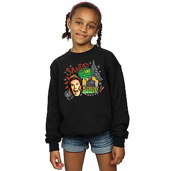 Elf Girls North Pole Sweatshirt