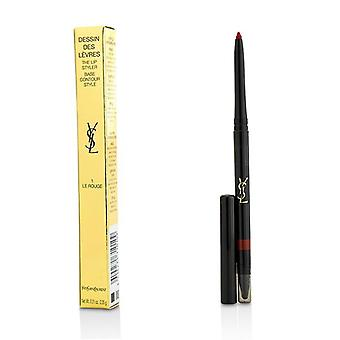 Yves Saint Laurent Dessin Des Levres The Lip Styler - # 1 Le Rouge - 0.35g/0.01oz