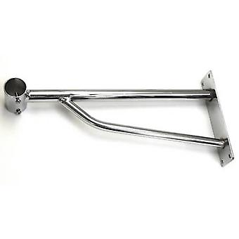Heavy Duty Chrome Bracket for Heavy Duty Wall Mounted Garment Rails