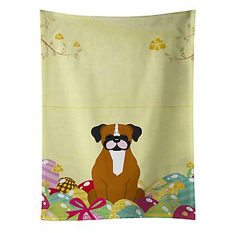 Carolines Treasures  BB6116KTWL Easter Eggs Flashy Fawn Boxer Kitchen Towel