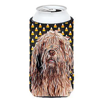 Otterhound Candy Corn Halloween hoog Boy drank isolator Hugger