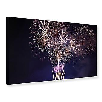 Canvas Print Fireworks