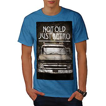 Not Old Retro Car Men Royal BlueT-shirt | Wellcoda