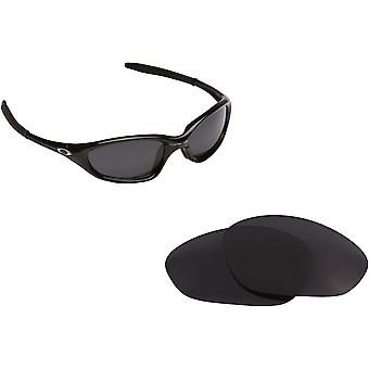 Twenty XX (2012) Replacement Lenses Black by SEEK fits OAKLEY Sunglasses