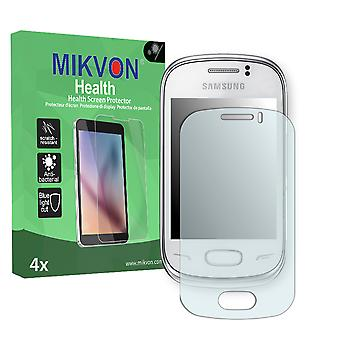Samsung S3800W Rex 70 Screen Protector - Mikvon Health (Retail Package with accessories)