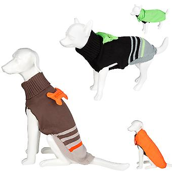 Pet Dog Jumper - Warm Knitted Sweater & Rain Coat - Various Colours & Sizes