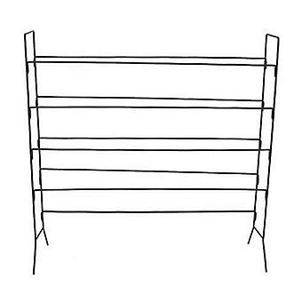Heavy Duty Steel 4 Tier sko Rack