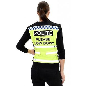 Equisafety Polite Please Slow Down Waistcoat