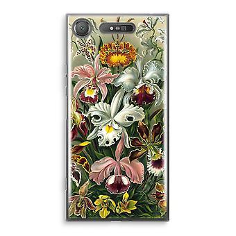 Sony Xperia XZ1 gjennomsiktig sak (myk) - Haeckel Orchidae