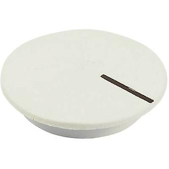 Cover + hand White, Black Suitable for K12 rotary knob Cliff