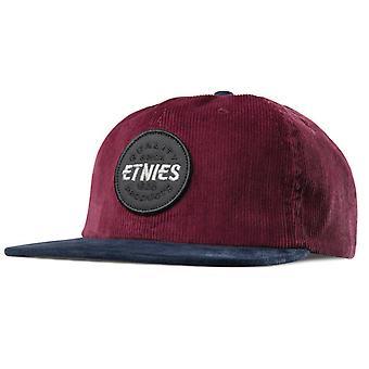 ETNIES patchato i cappelli - Borgogna