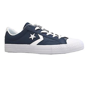 Converse Mens Shoe Star Player Ox Navy/White