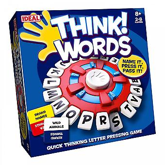 Ideal Think Words Game~