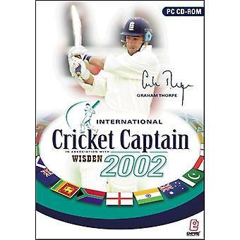 International Cricket Kaptajn 2002-fabriks forseglet
