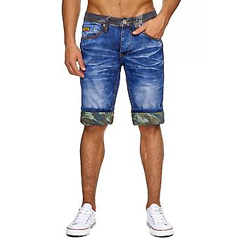 Men's jeans shorts camouflage of men's Shorts Pants camouflage Capri boardroom
