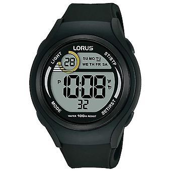 Lorus Unisex Lorus gomma digitale Sport Watch R2373LX9 nero