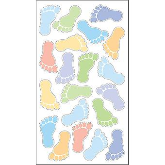 Sticko Stickers-Boys' Footprints
