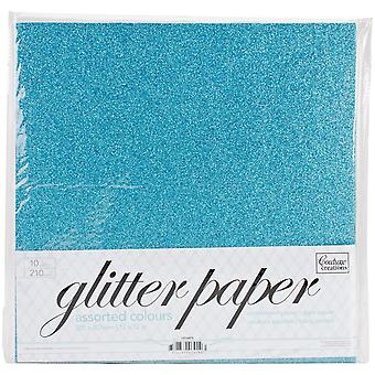 Couture Creations Glitter Paper Pad 12