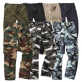 Kids Bdu 6-Pocket Cargo Combat Trousers Children
