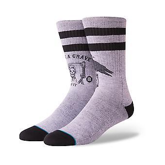 Stance Lifes A Grave Crew Socks