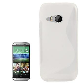 Mobile sag TPU etui til HTC én mini 2 gennemsigtige
