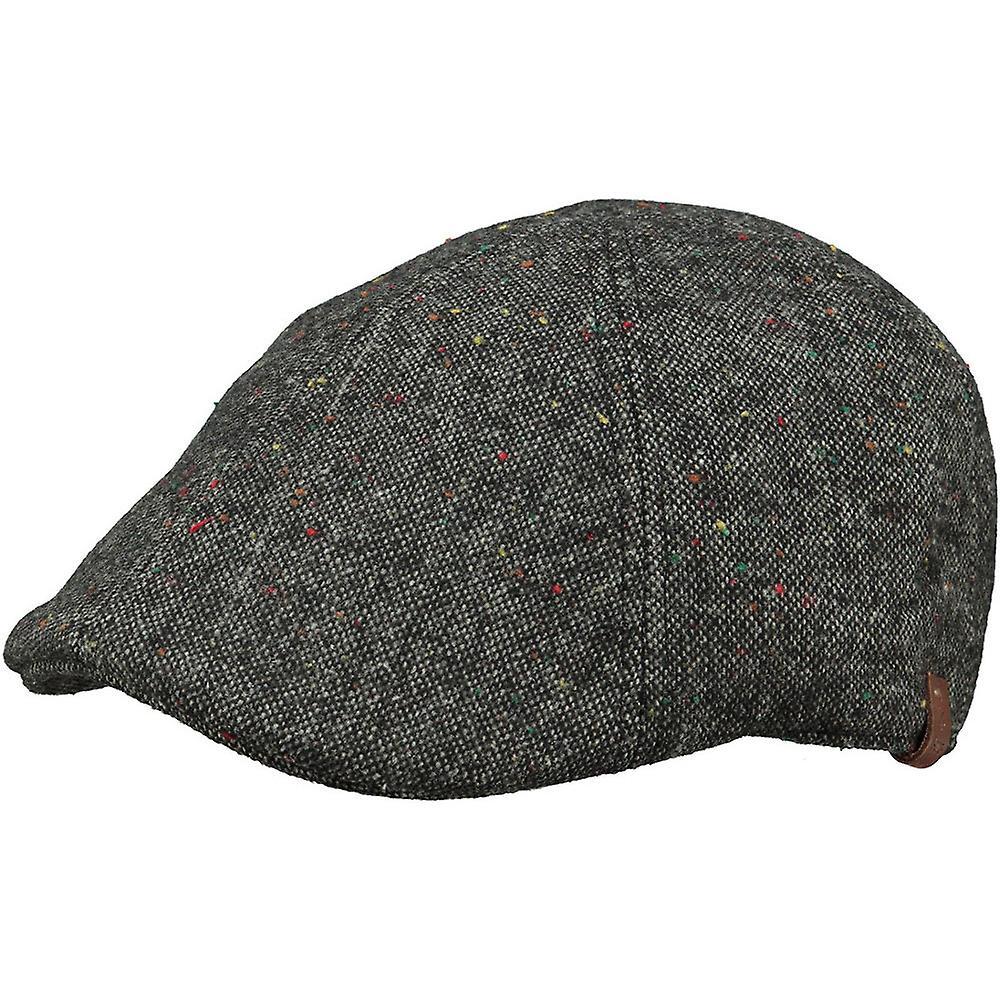 Barts Mens Martinique Wool Blend Adjustable Newsboy Flat Cap