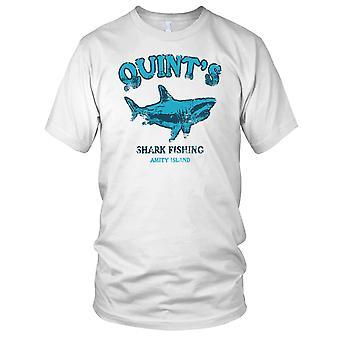 Quints Shark Fishing Jaws Kids T Shirt