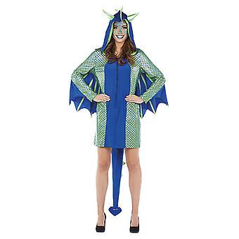 Dragon Girl ladies costume Dragon dress animal costume Carnival