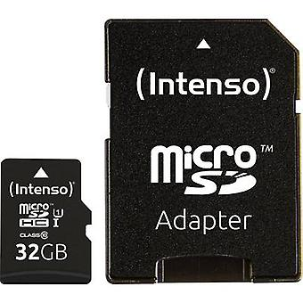 Intenso Professional microSDHC card 32 GB Class 10, UHS-I incl. SD adapter