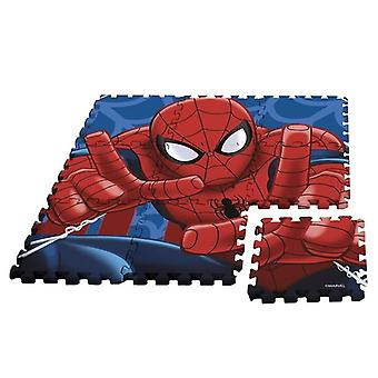 Marvel Spiderman Foam Play Mat Kids EVA Floor Mats Bedroom Playroom 9 Pack