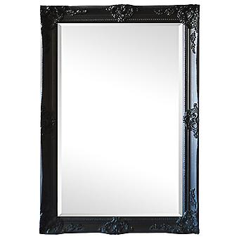 黒、サイズ 109 × 79 cm 幻想的なモチーフを鏡します。