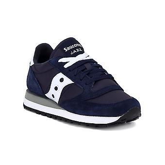 Saucony jazz  navy white sneakers moda