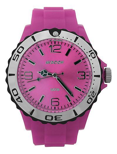 Waooh - Black Silver Bezel Watch STM42
