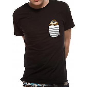 Looney Tunes Taz Pocket T-shirt