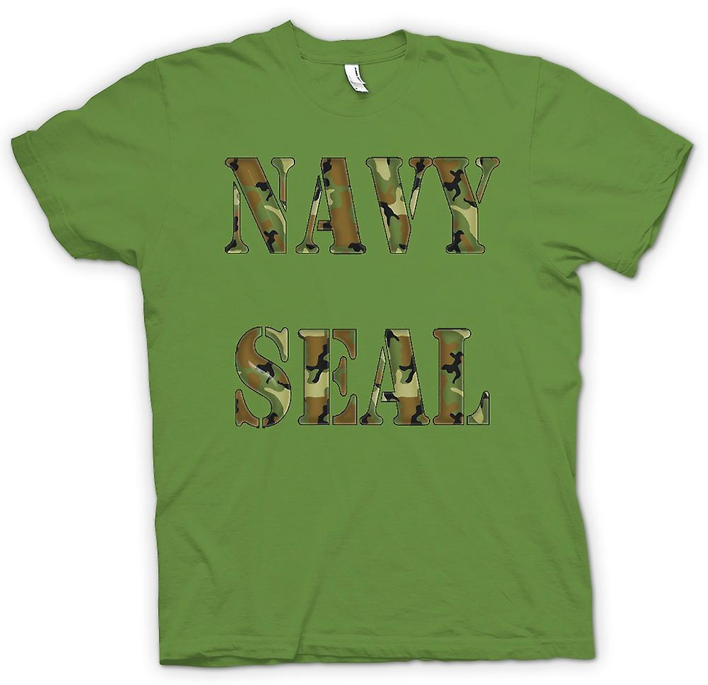 Heren T-shirt-US Navy Seals Elite
