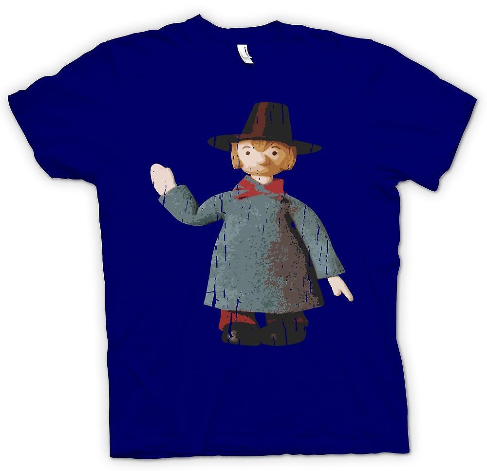 Herr T-shirt - blåsigt Miller - Camberwick grön