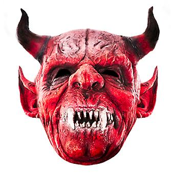 The Devil Halloween Card Face Mask