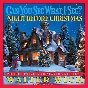 Natten innan jul: bild pussel att söka och lösa (kan du se vad jag se?): bild pussel att söka och lösa (kan du se vad jag se?)