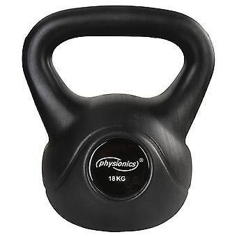 Kettlebell haltère poids musculation haltérophilie exercices gym 18 kg 0701143
