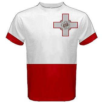Malta banderą maltańską SUBLIMOWANA Koszulka