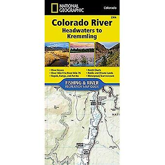 Colorado River, Headwaters To Kremmling: River Map Guide