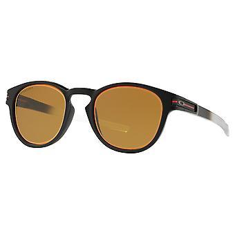 Oakley OO9265 36 Matte Black Latch Oval Sunglasses Lens Category 3 Size 53mm
