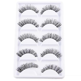 10pcs Luxurious long false eyelashes-Frida