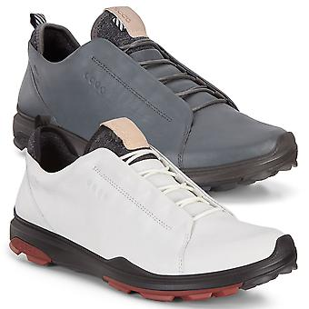 Ecco Mens 2019 Biom Hybrid 3 Waterproof Leather Breathable Golf Chaussures