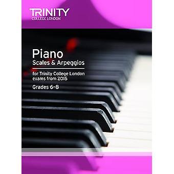 Piano 2015 Scales & Arpeggios Initial - Grade 5 - 9780857363459 Book