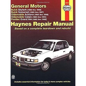 GM N-cars (Buick Skylark 86-98 - Buick Somerset 85-87 - Oldsmobile Ac