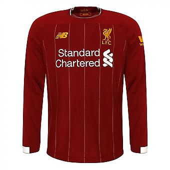 2019-2020 Liverpool Home Long Sleeve Shirt (Kids)